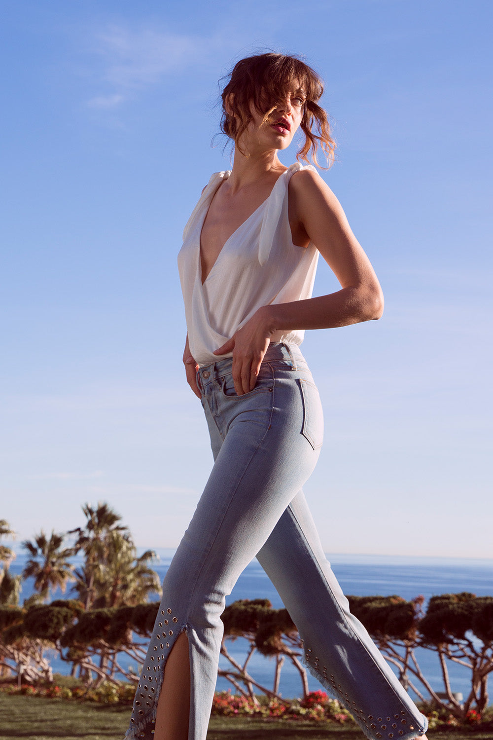 Superstar Crop Flare Jeans
