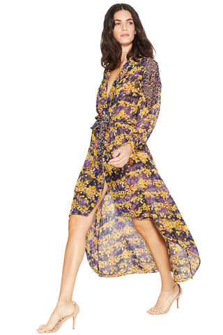SHILOH WRAP DRESS - MISA Los Angeles