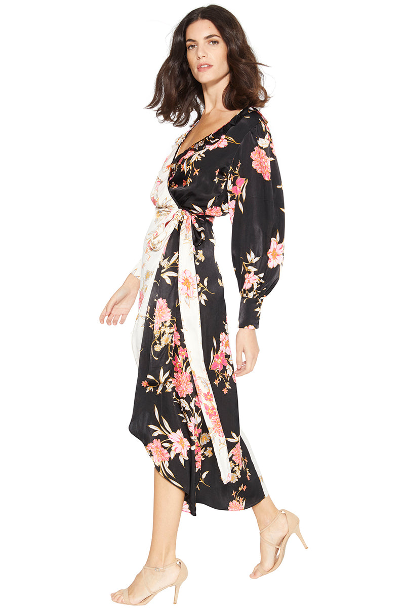 TABITHA WRAP DRESS - MISA Los Angeles