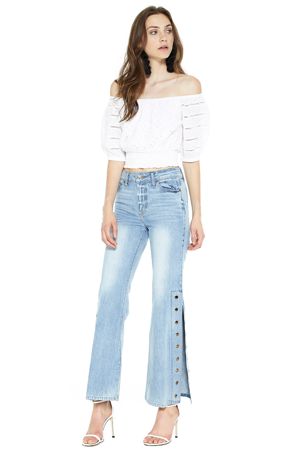 Superstar Slit Jeans - MISA Los Angeles