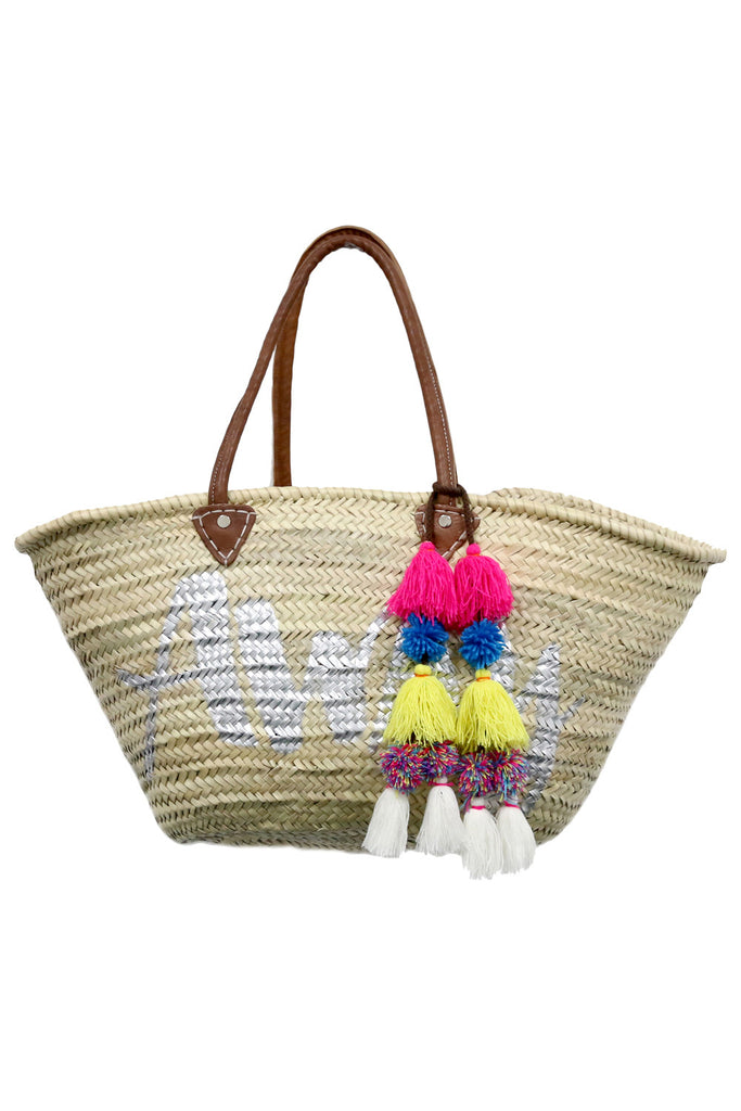 Marrakesh Bag Long Handle - Away<br>Sold with Adina Pompom - Misa Los Angeles - 1