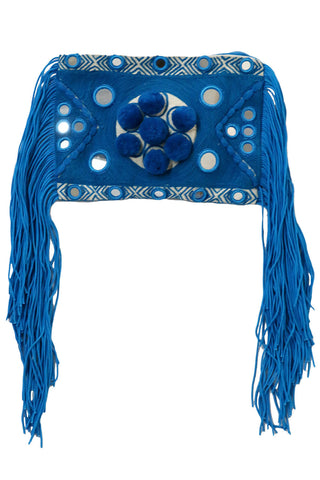 Paraga Blue Clutch - MISA Los Angeles