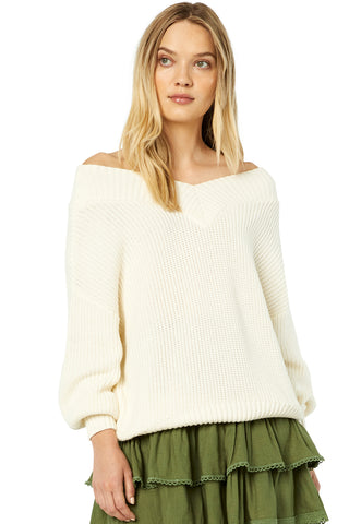 ZAHAR KNIT TOP