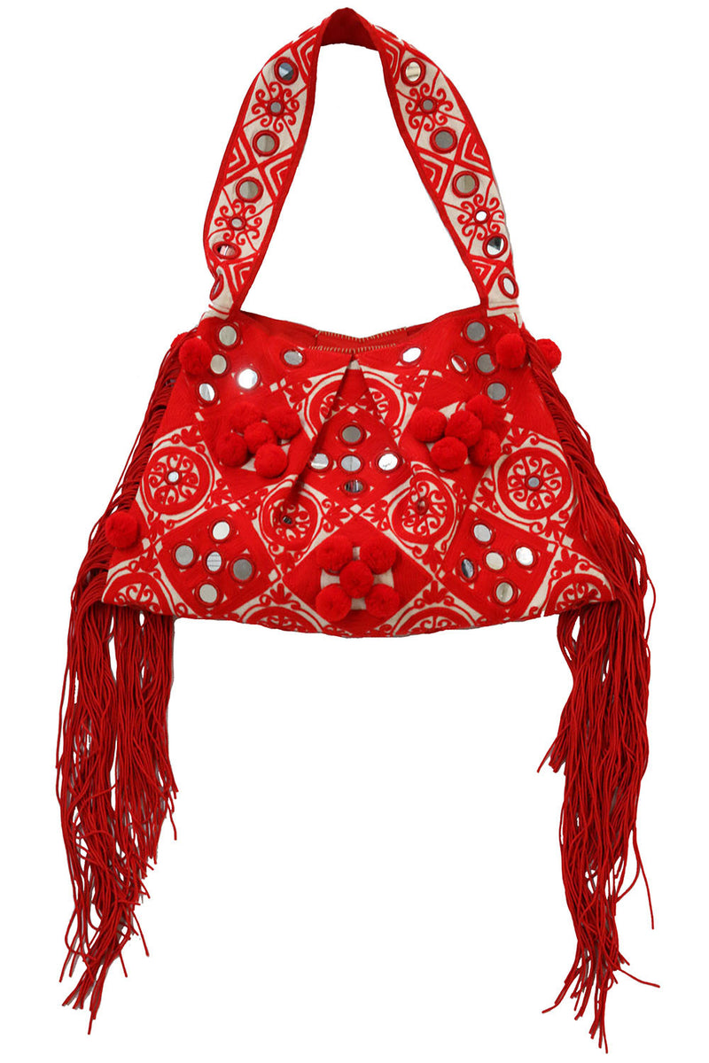 Paraga Red Tote - MISA Los Angeles