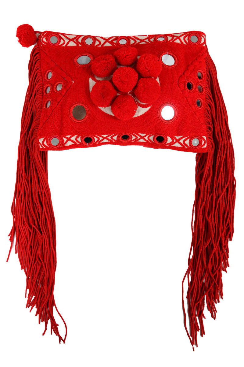 Paraga Red Clutch