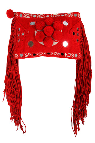 Paraga Red Clutch - MISA Los Angeles