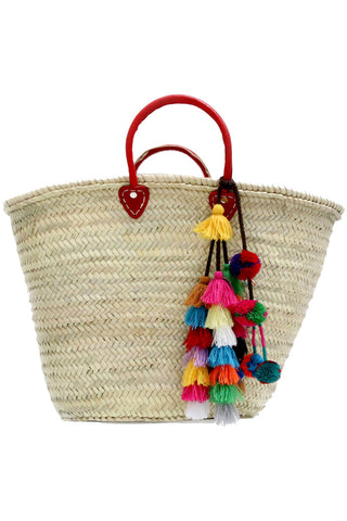 Marrakesh Bag With Lucja Pompom Tassel - MISA Los Angeles