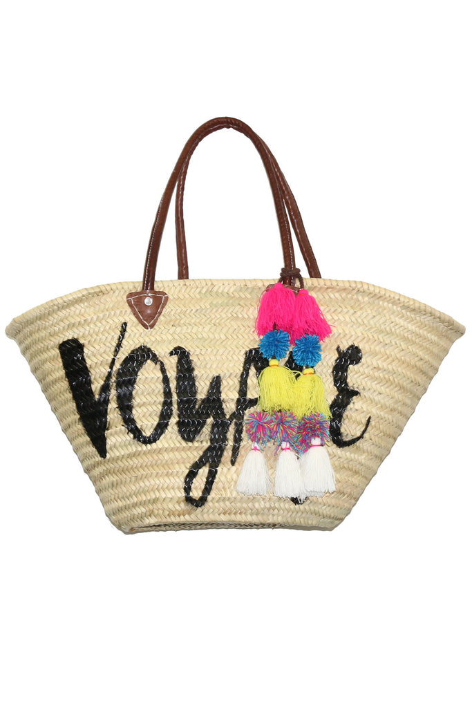 Marrakesh Bag Long Handle - Voyage<br>Sold with Adina Pompom - Misa Los Angeles - 1
