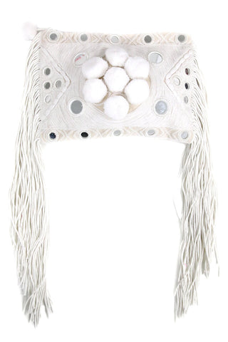 Paraga White Clutch - MISA Los Angeles
