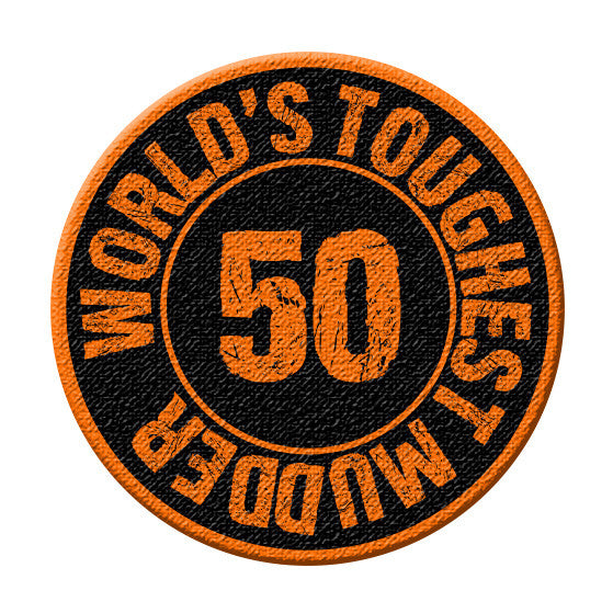 World's Toughest Mudder - 50 Mile Patch
