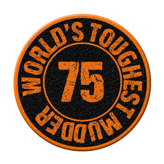 World's Toughest Mudder - 75 Mile Patch