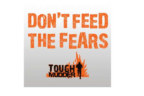 'Don't Feed the Fears' Decal