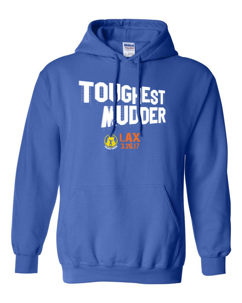 2017 Toughest Mudder West Participant Hoodie
