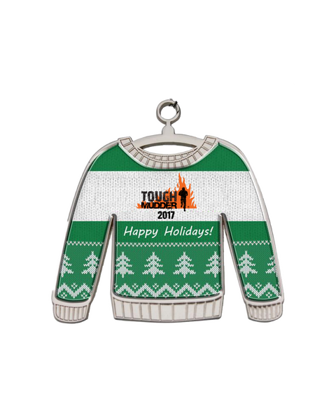 Tough Mudder Ugly Sweater Holiday Ornament