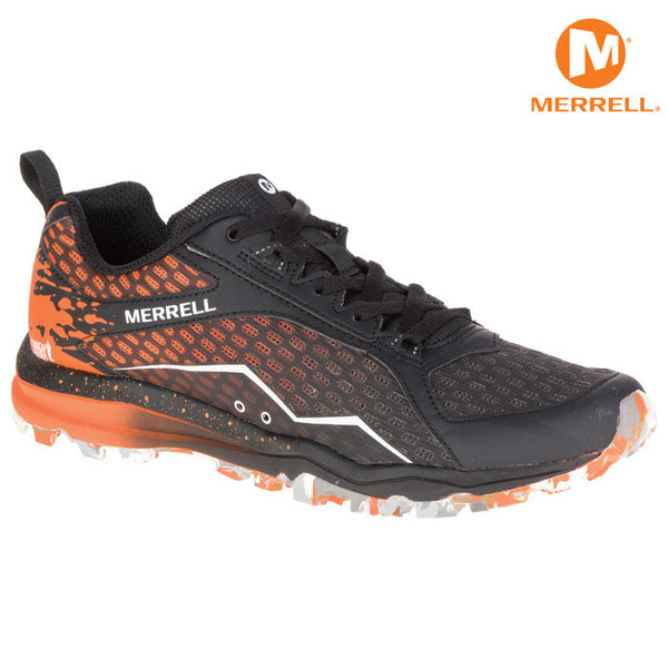Orange Merrell All Out Crush Shoe - Men