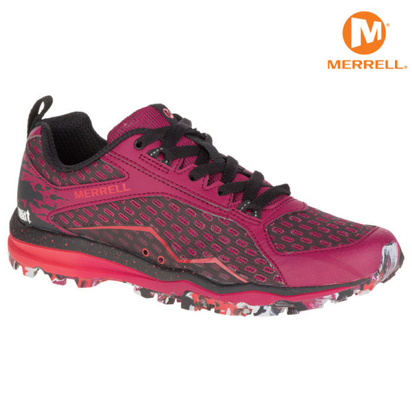 Pink Merrell All Out Crush Shoe - Women