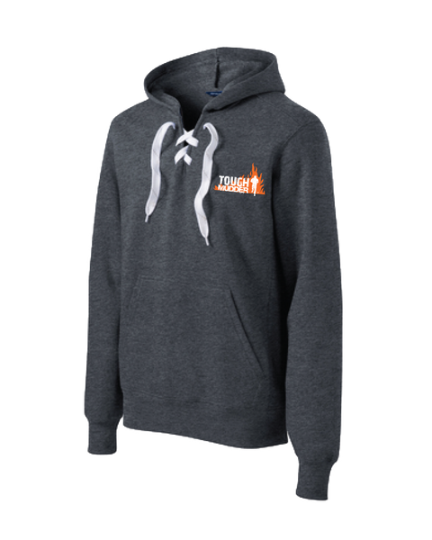 Tough Mudder Lace Up Pullover Hooded Sweatshirt