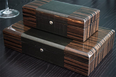 Carbon Fiber and Exotic Wood Come Together To Create Elegant Watch Cases