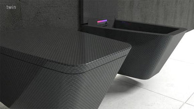 Another Carbon Fiber Toilet…This Time It's Modern
