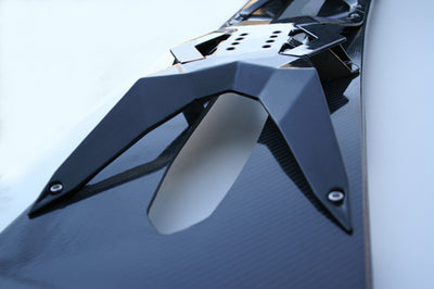 New Carbon Fiber Snowboard Concept: The Whip FR-117