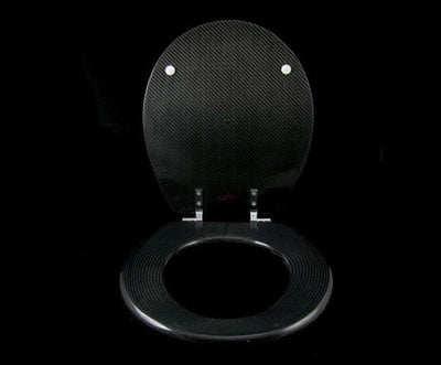 Carbon Fiber Toilet Seat Cover