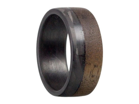 1-craftsman-carbon-fiber-and-walnut-wood-ring_f84b2ab3-022a-4f0c-9611-3a663f3b9e3d | Benefits of Getting A Carbon Fiber Ring | Strength and Durability