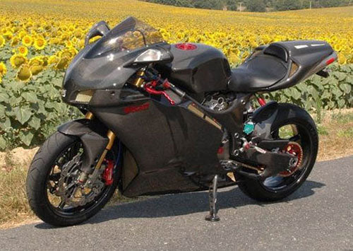 160 000 All Carbon Fiber And Titanium Ducati 999s Motorcycle