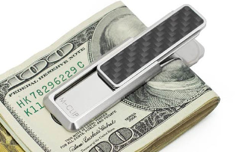 M-Clip Stainless Steel and Carbon Fiber Money Clip | How The Money Clip Makes A Great Wallet Alternative |