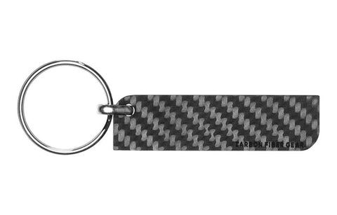 Solid Carbon Fiber Key Tag | 8 Carbon Fiber Keychains For Every Style
