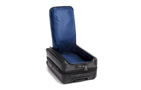TUMI Continental Dual Access 4 Wheeled Carbon Fiber Carry-On Suitcase | Upgrade Your Luggage With Carbon Fiber Luggage Sets