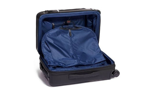 TUMI International Dual Access 4 Wheeled Carbon Fiber Carry-On Suitcase   Upgrade Your Luggage With Carbon Fiber Luggage Sets