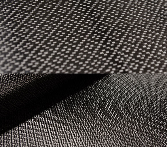 Atomic carbon fiber fabric