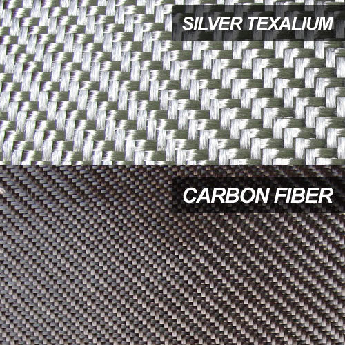 Difference between Texalium and carbon fiber