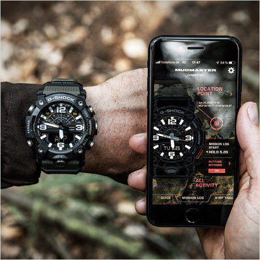 Casio G-Shock Mudmaster with app