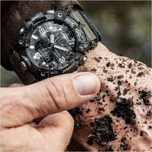Dirty Casio G-Shock Mudmaster