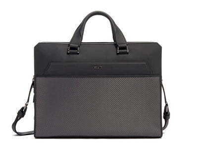 Tumi Barnet Double Zip Carbon Fiber Brief
