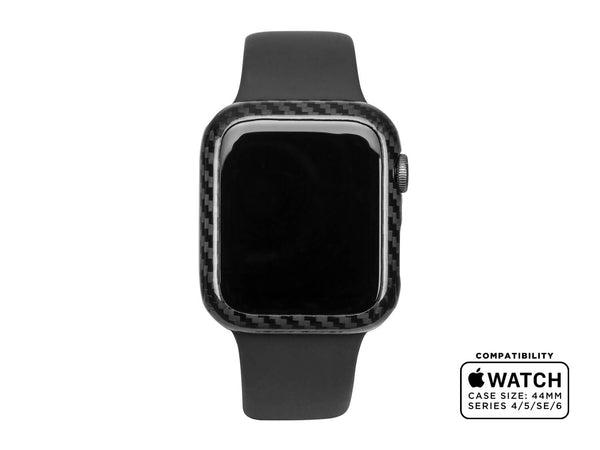 CarboShield Carbon Fiber Case for 44mm Apple Watch Series 4