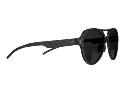 Carbon fiber aviator style sunglasses