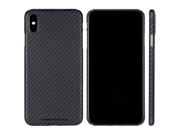 Carbon Fiber Gear 100% Aramid Fiber Case for iPhone XS Max