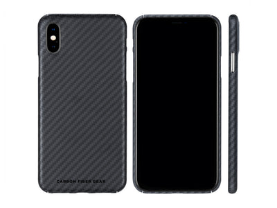 Carbon Fiber Gear Aramid Fiber Case for iPhone X / XS