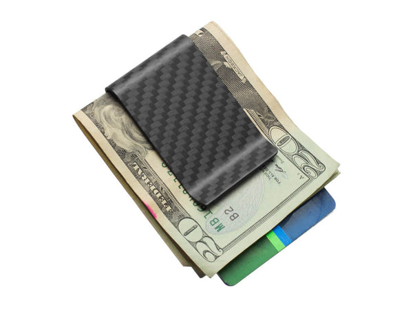 Real Carbon Fiber Money Clip / Matte
