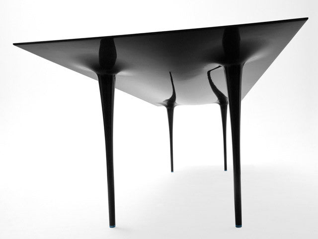 fiber furniture. carbon fiber stealth table furniture a