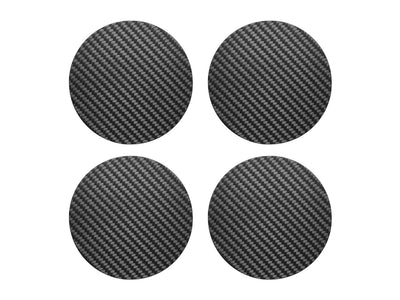 Carbon Touch 100% Carbon Fiber Drink Coaster Set - Circle