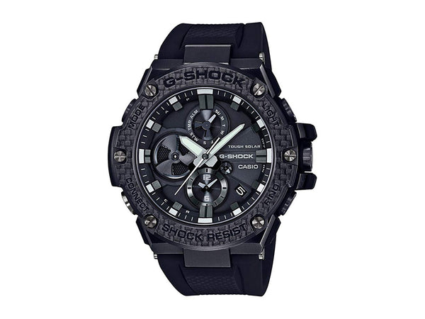 Casio G-Shock GSTEEL GSTB100X-1A carbon fiber watch