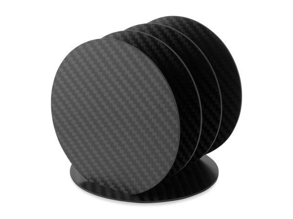 Common Fibers Carbon Fiber Coaster Set