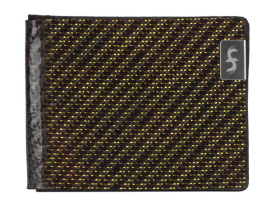 Common Fibers MAX Gold Edition Carbon Fiber Wallet