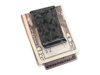 Forged Carbon Fiber Money Clip