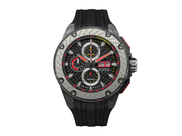 Giorgio Piola G5 Forged Carbon Fiber watch front