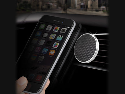 JustClick Carbon Fiber Magnetic Car Mount