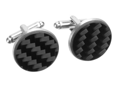 Ledon Carbon Fiber Cuff Links